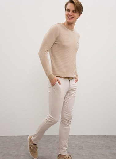 U.S. Polo Assn. U.S. Polo Assn. Slim Fit Erkek Pantolon Taş
